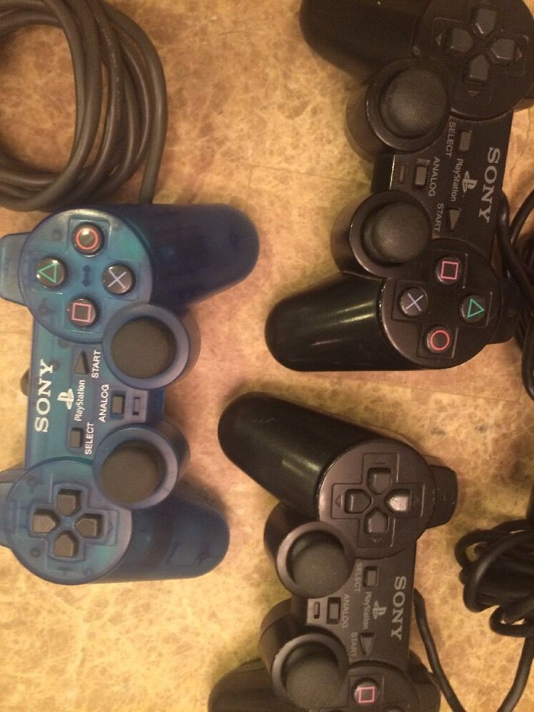 Sony PlayStation Analog Controller Lot of 3 | eBay