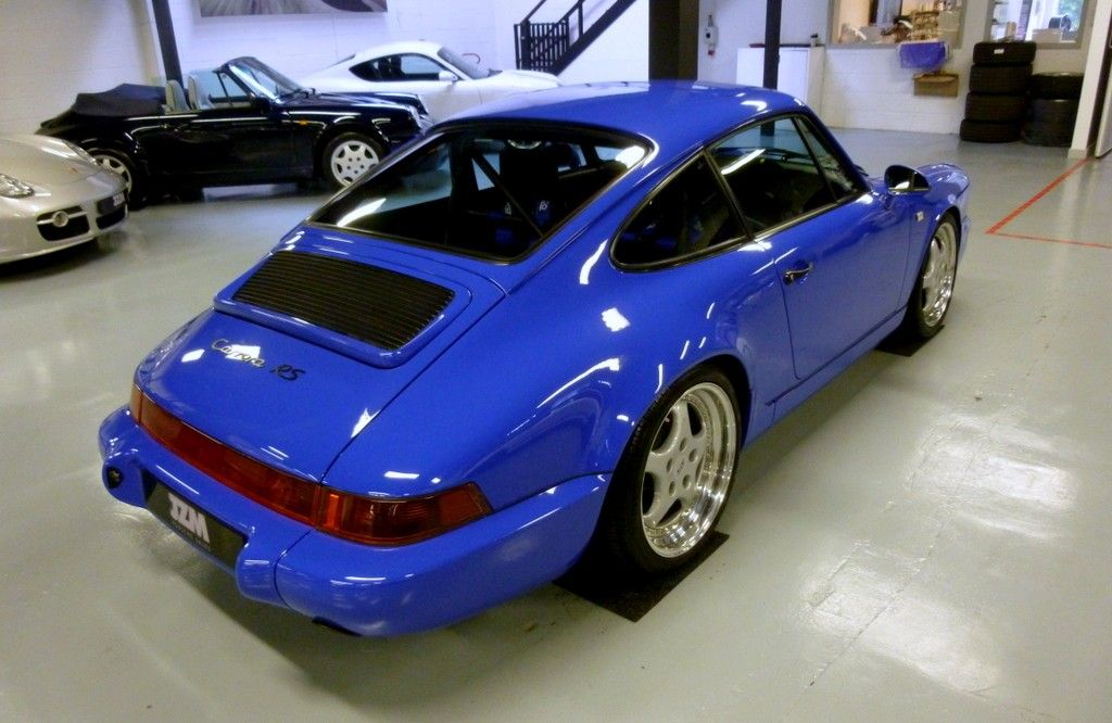 964 rs recreation in maritime blue at jzm 964 for Maritime motors used cars