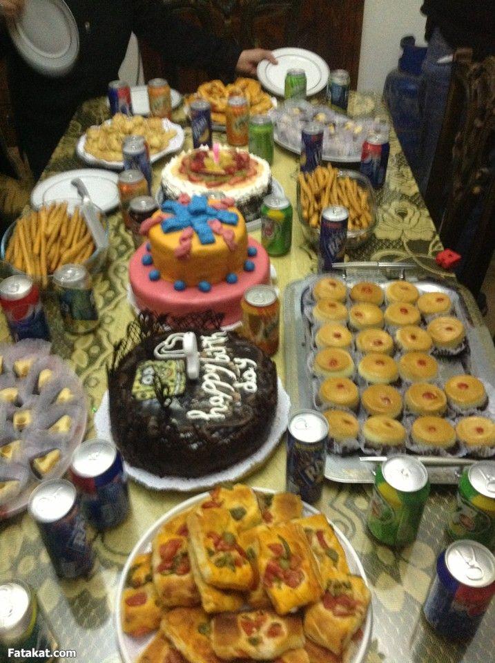 بوفيه عيد ميلاد بنوتي كله من مطبخي بعون الله Desserts Cake Food
