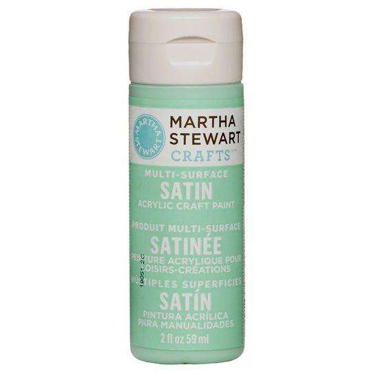 Martha Stewart Crafts Multi Surface Satin Acrylic Craft Paint 2oz