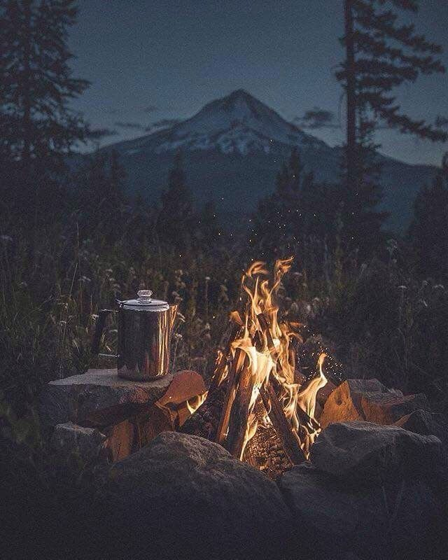 The best nights are usually unplanned, random and spontaneous ~camp coffee
