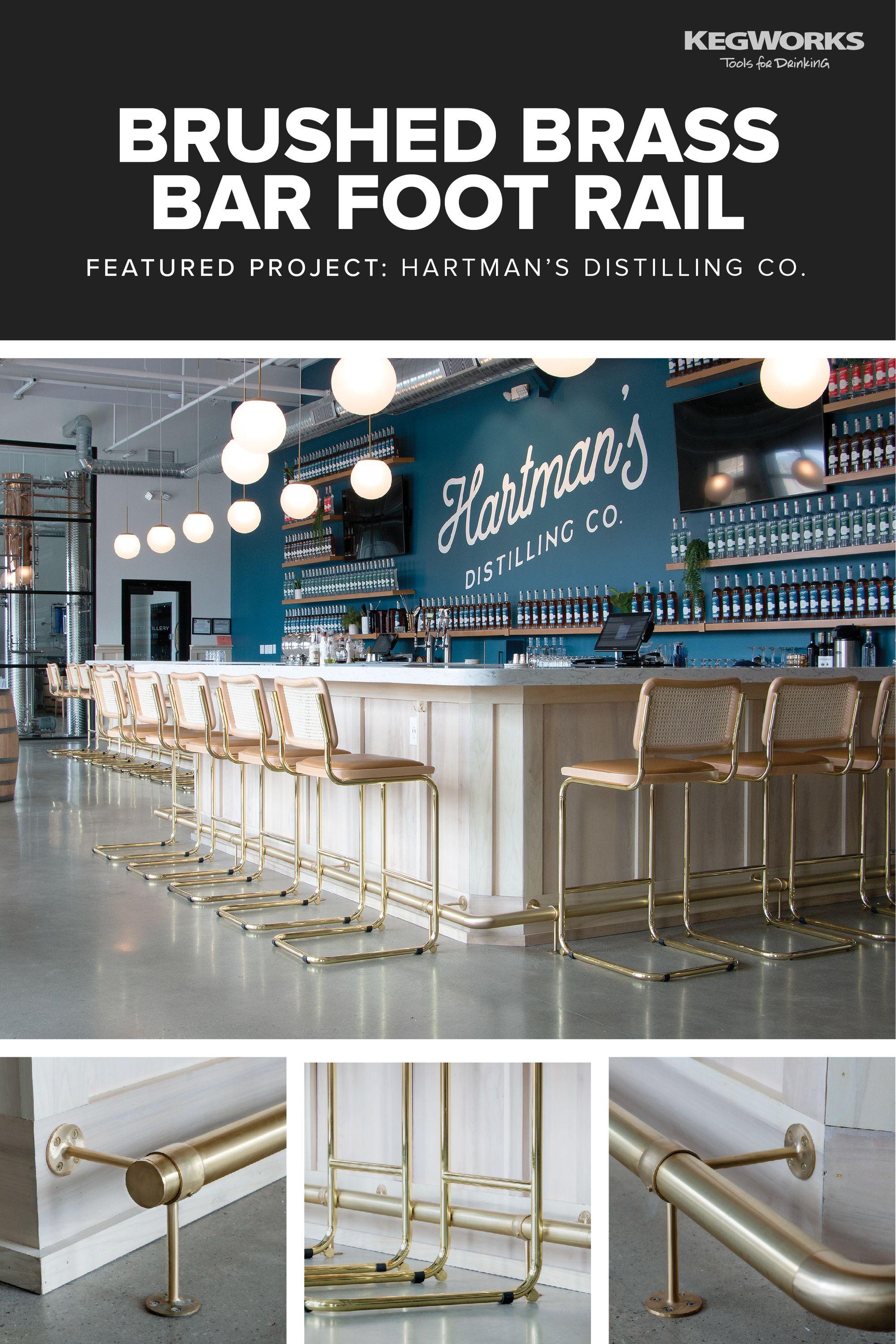 Featured Bar Rail Project Hartman S Distilling Co Bar Bar Rail Distillation