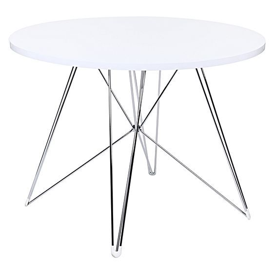 Replica Eames Eiffel Dsr Round Dining Table By Simpel Zanui