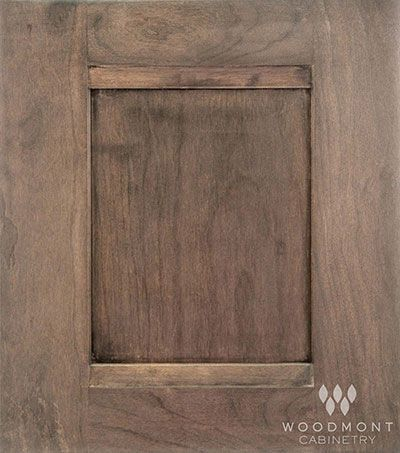 Woodmont Cabinet In Montego Bay Cherry Oyster Reverse Panel