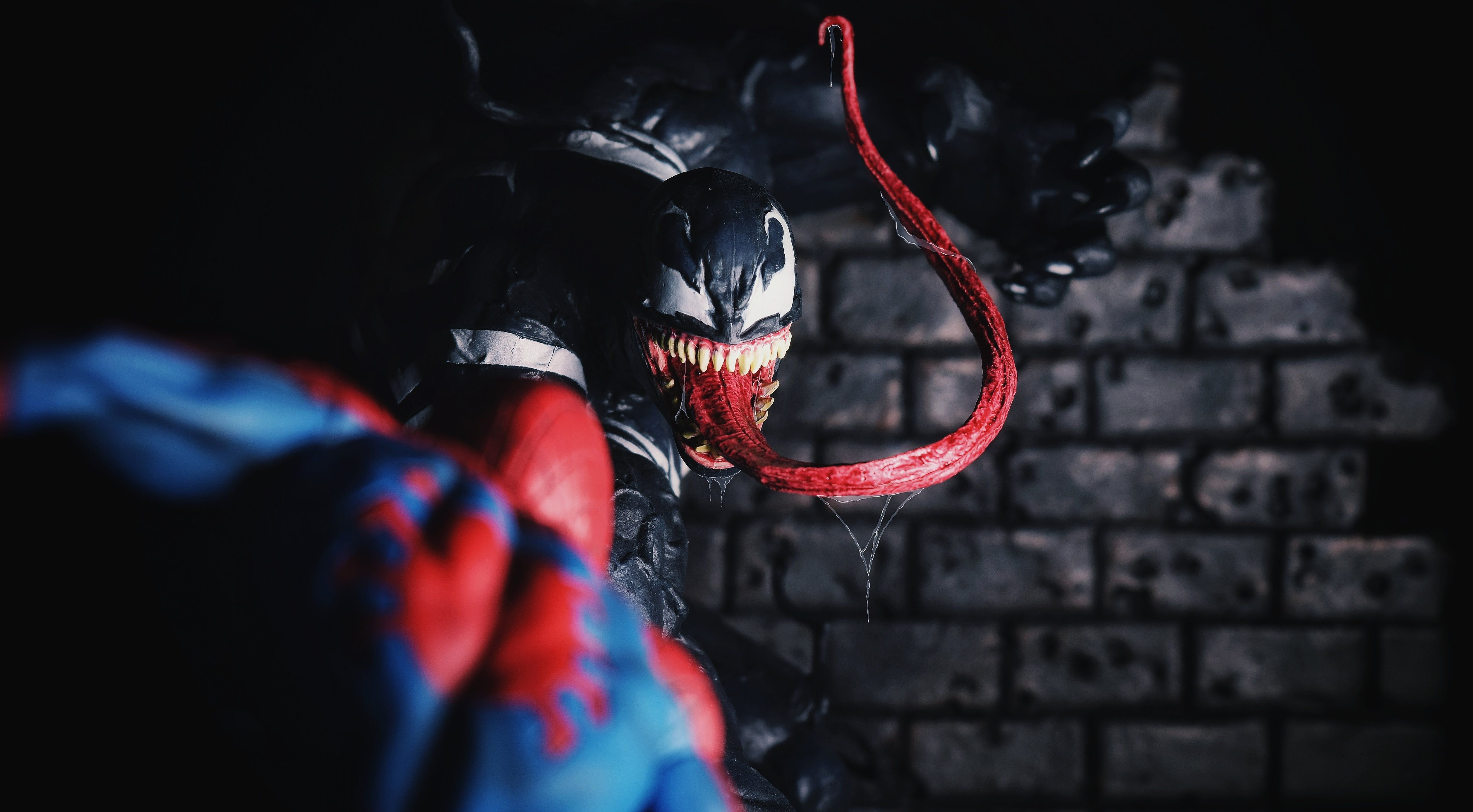 Kotobukiya Venom Spiderman Spiderman Art Spiderman Artwork 3d Wallpaper Spiderman