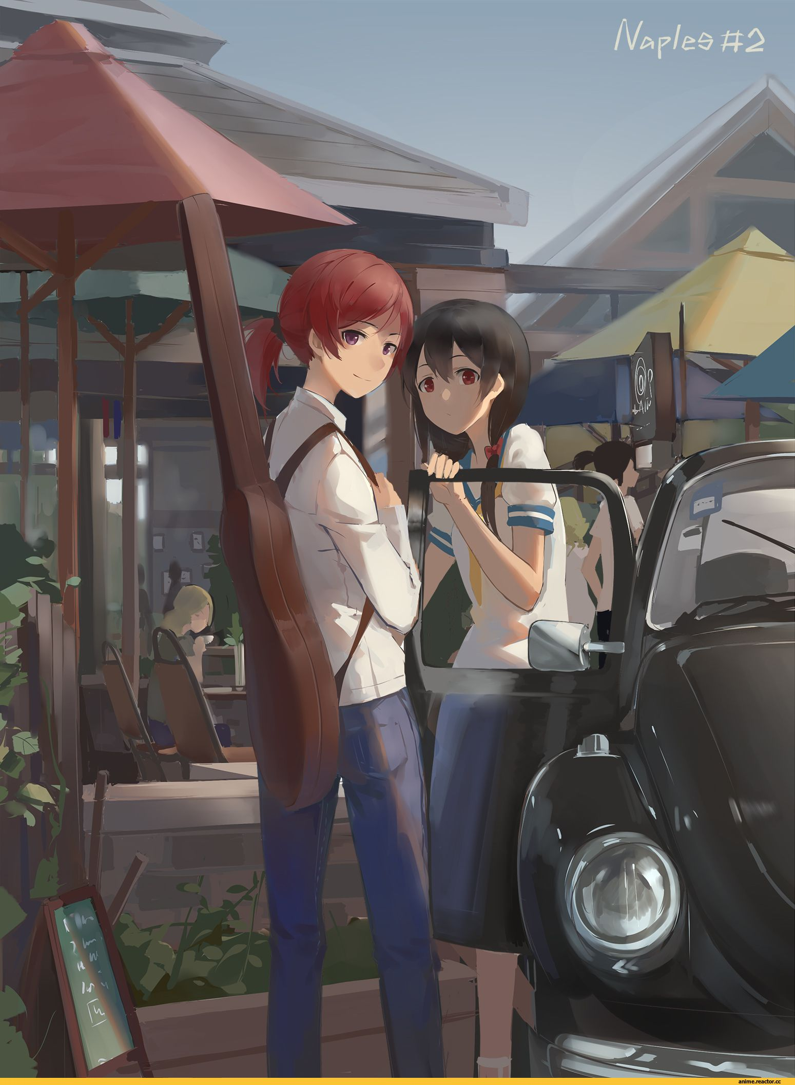 Gensou Kuro Usagi :: Anime Art :: мир аниме / красивые картинки и арты, гифки, прикольные комиксы, интересные статьи по теме.