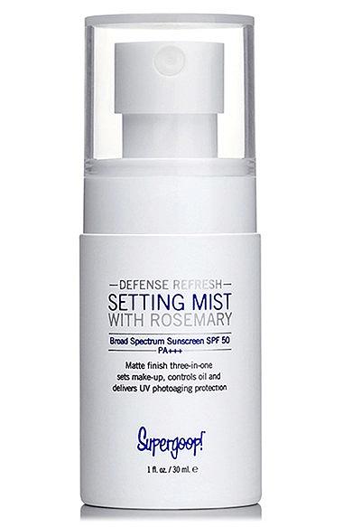 Sunscreen Face Mist