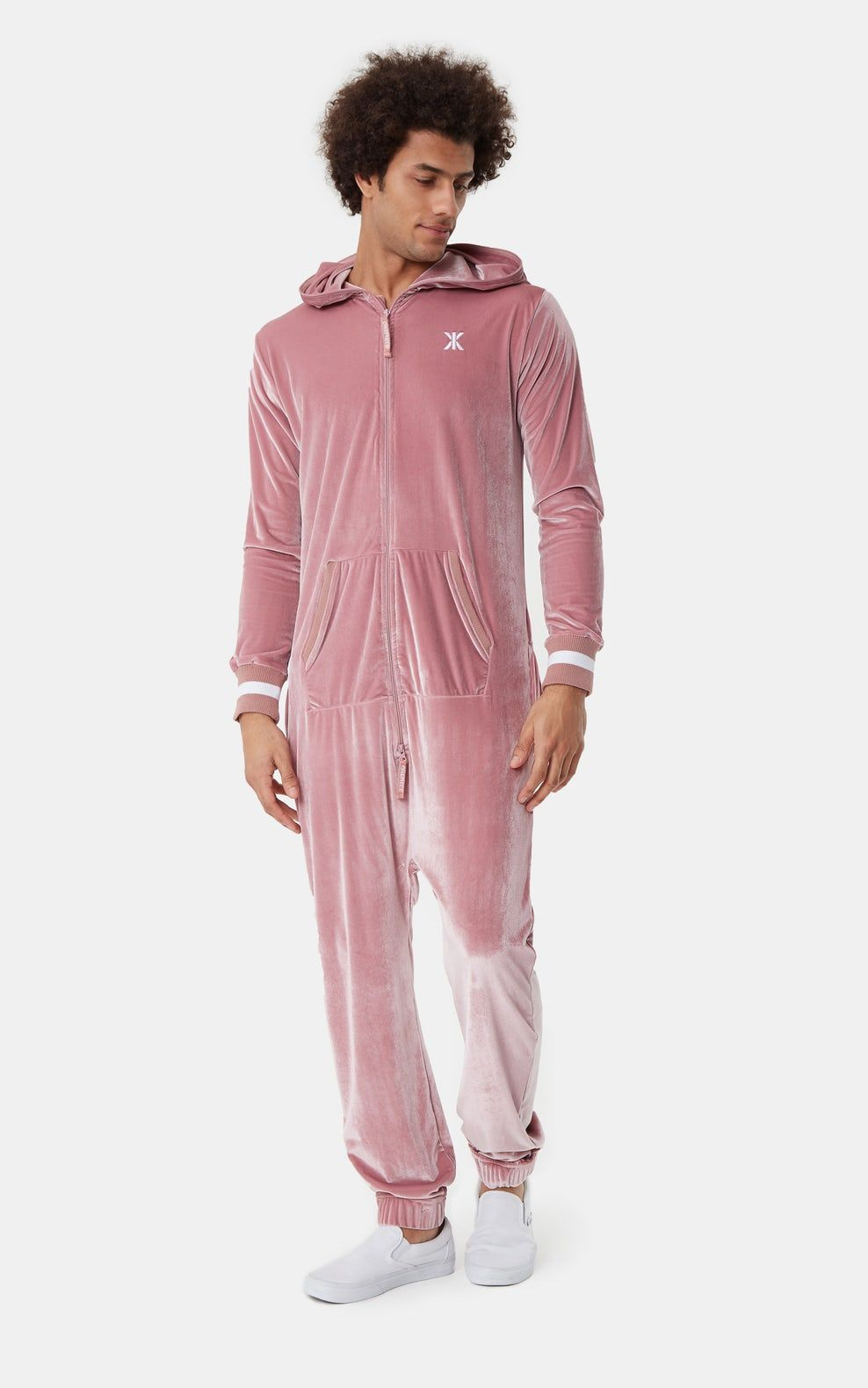 095cce95c017 Onepiece Original Velour Jumpsuit Faded Pink