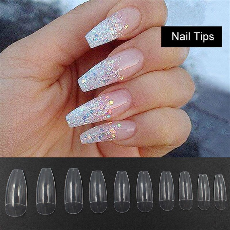 False Nails #ebay #Health & Beauty | Ballerina, Nail inspo and Prom ...