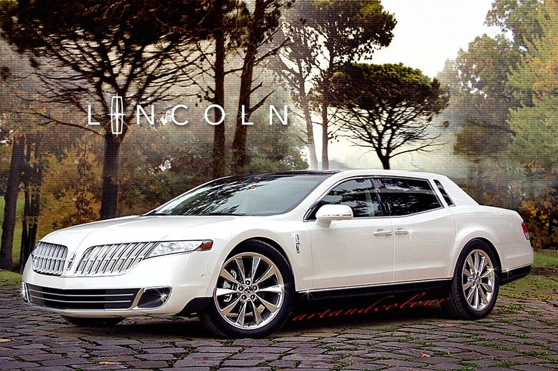 2016 Lincoln Town Car front view white color pictures