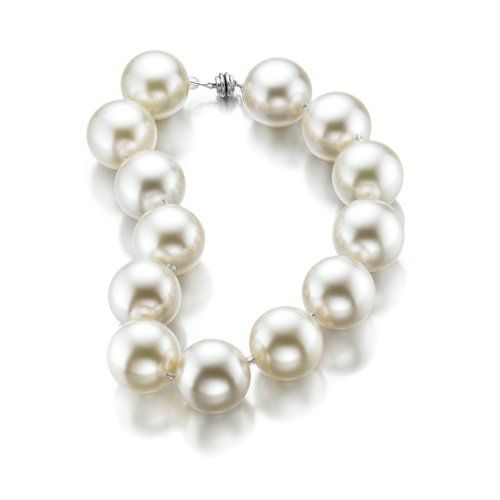 "Hot Girls Pearls 16"" Original White C..."