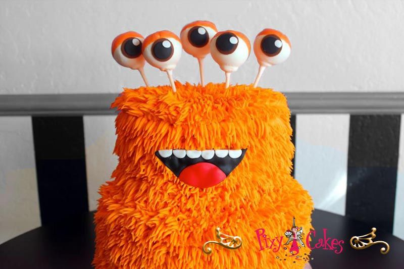 birthday cakes for kids great ideas themes monsters inc orange