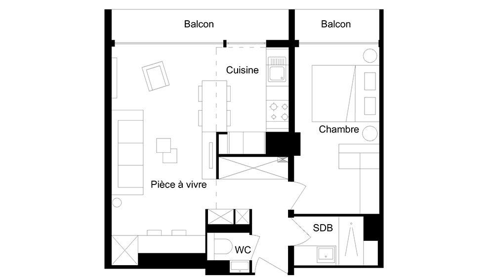 Avant / Après  Optimiser les rangements d\u0027une petite chambre en - Plan Maison En Longueur