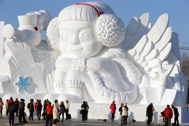 China Harbin International Snow Sculpture Art Expo