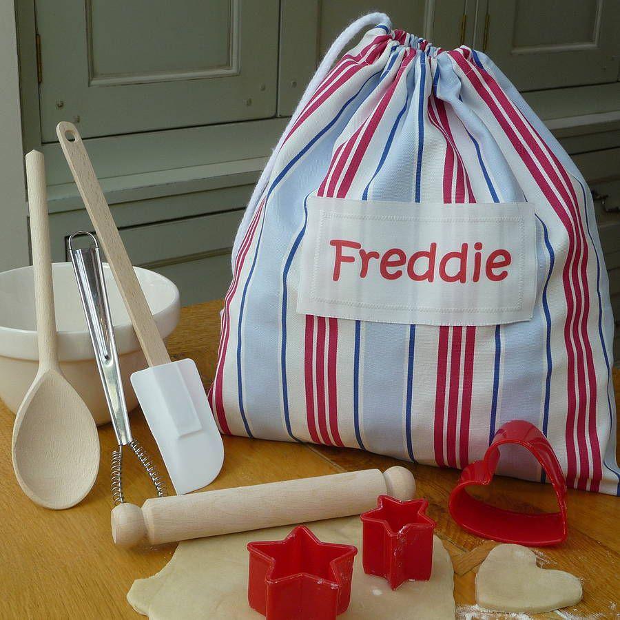 Personalised Baking Kit Childrens Baking Kids Baking