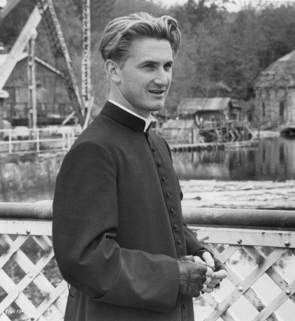 Bad Boys With Sean Penn: Sean Penn As A Priest. Now That's What I Call ACTING! :