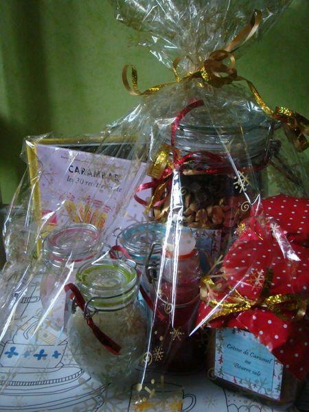 Panier Gourmand De Noel Creamylicious Panier Gourmand Noel Idee Cadeau Noel Panier Garni Noel
