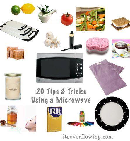 Twenty AWESOME Microwaves Uses