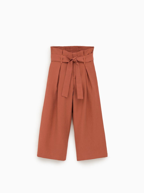 Flowy culotte pants