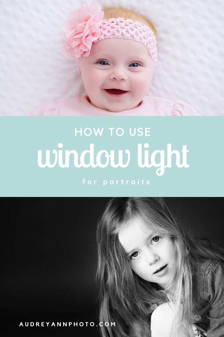 Lighting Basement Washroom Stairs: How To Use Window Light For Portraits: A Step By Step