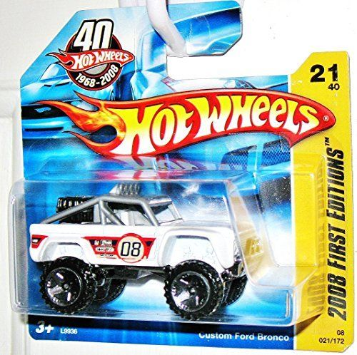 Hot Wheels Custom Ford Bronco 40th Anniversary Issue 1 64 Scale