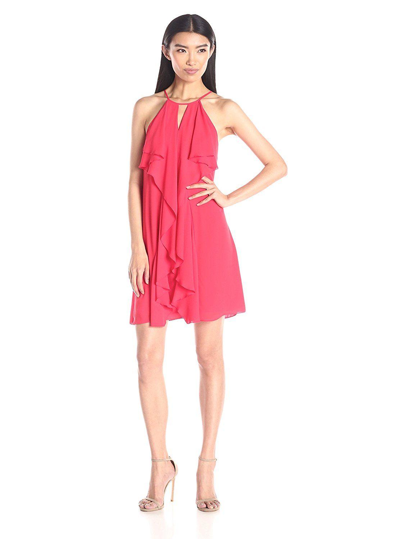 Bcbgmaxazria womenus hattie short ruffle dress tried it love it