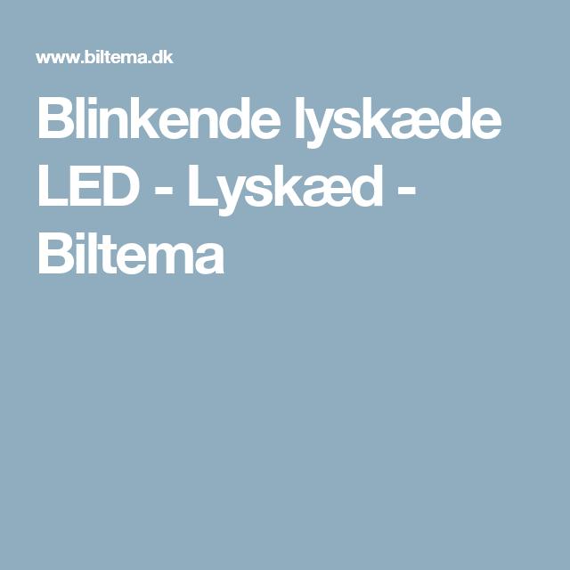 Blinkende lyskæde LED - Lyskæd - Biltema