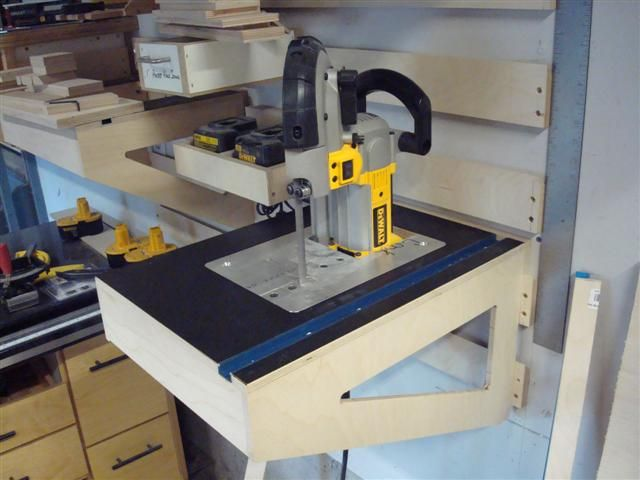 small router table for french cleats Tooling organization ...