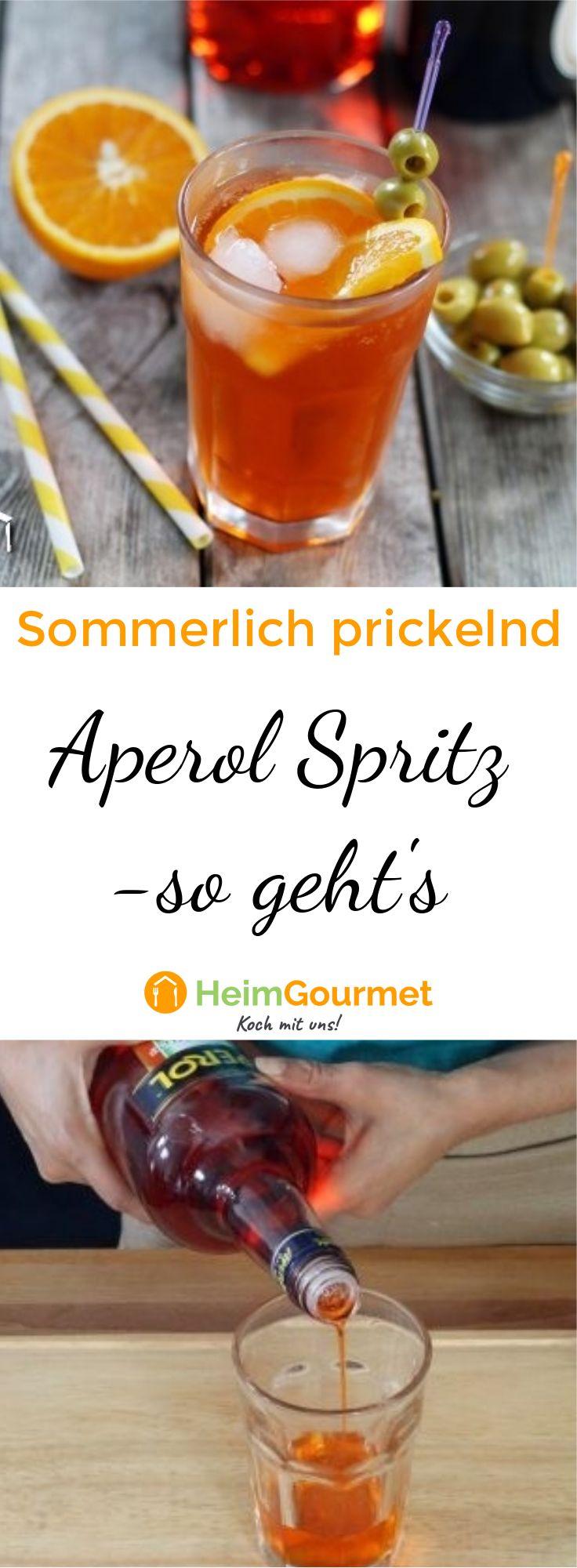 Aperol Spritz Rezepte