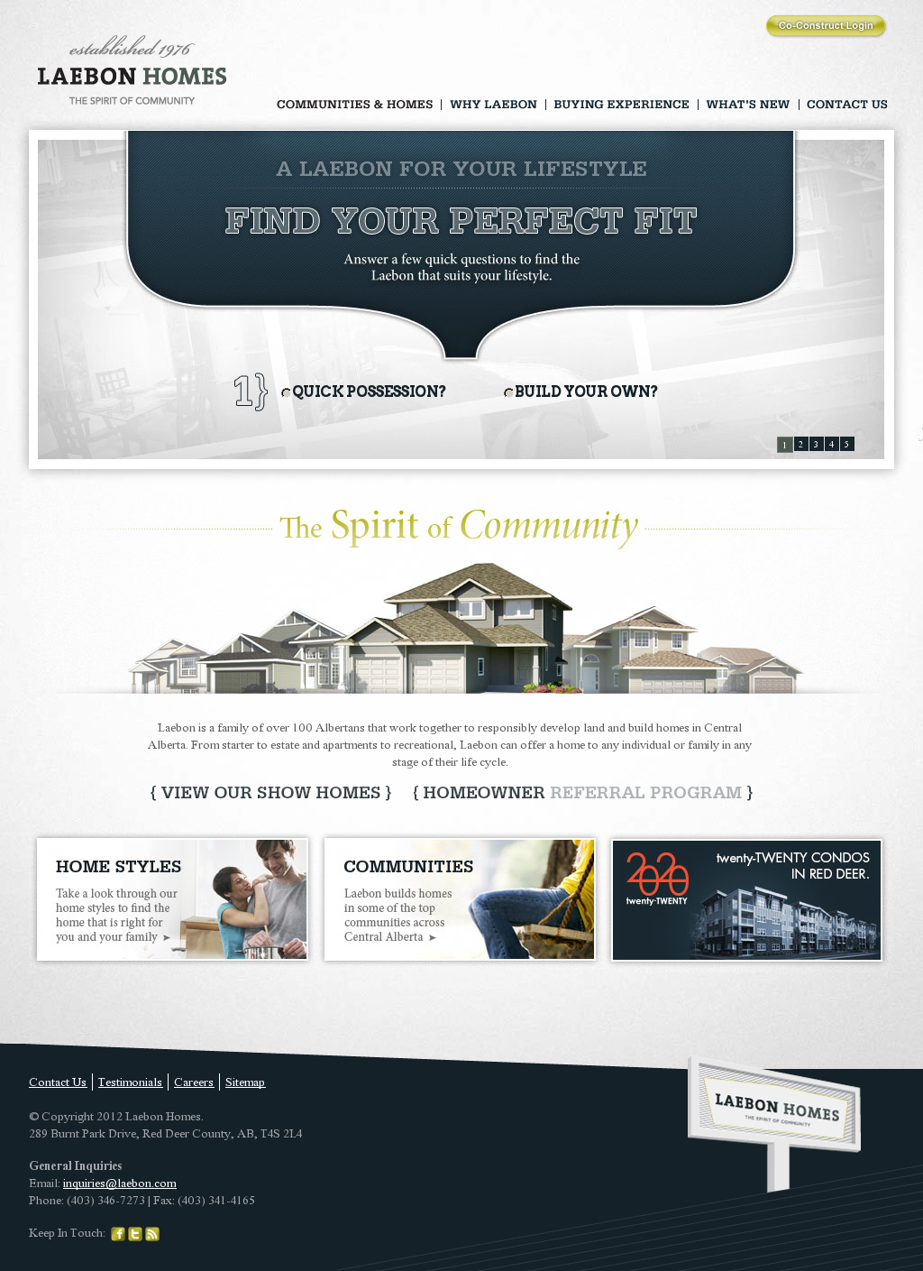 Home Builders In Red Deer Alberta Small Business Web Design Website Design Web Design