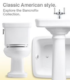 kohler bancroft bathroom accessories bathroom