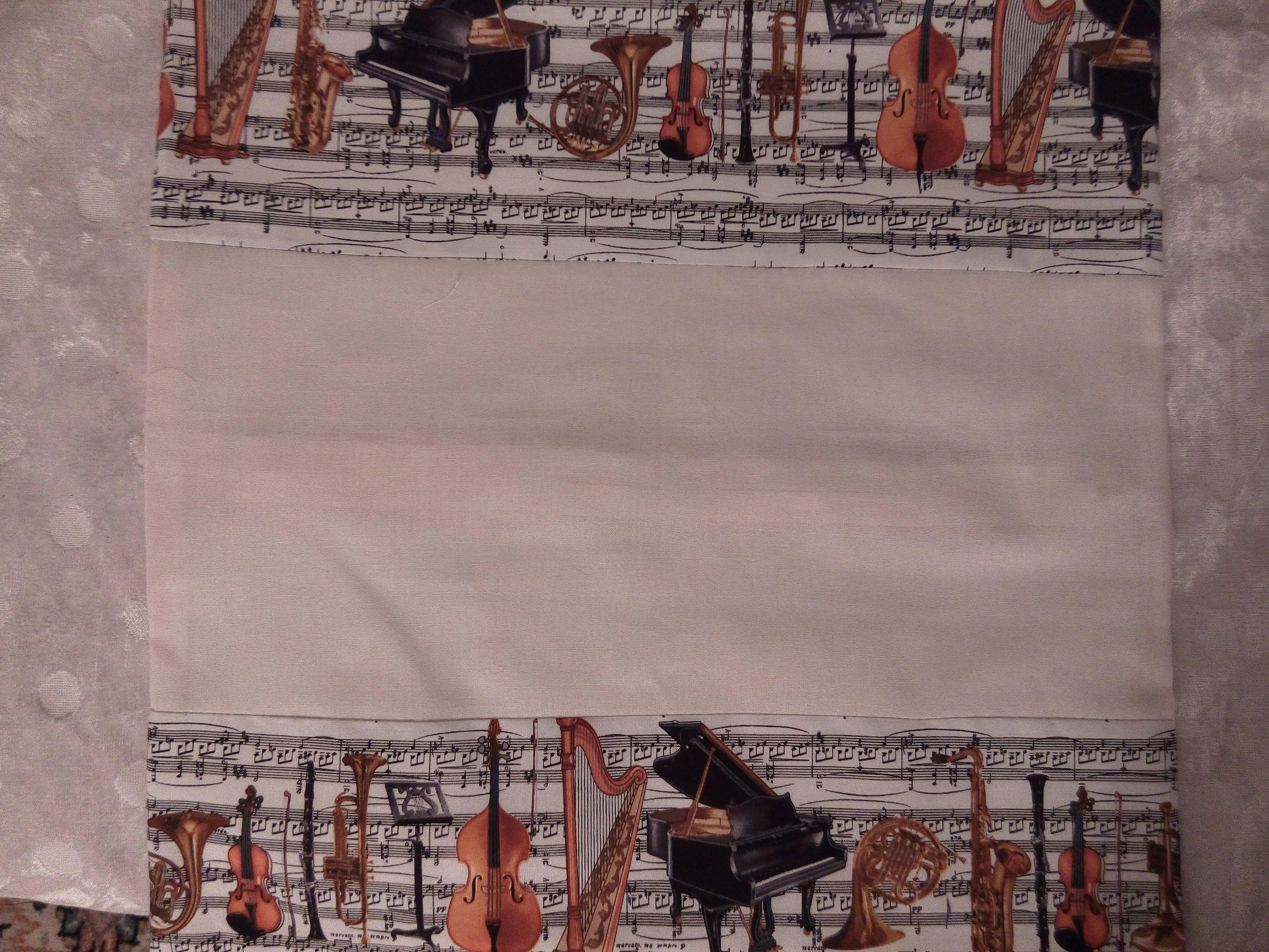 Für Musikliebhaber: Kissenbezug 40 x 40 cm  Bei Interesse bitte PN