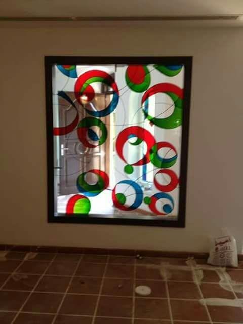 تنفيذ كافة اعمال الزجاج الرياض 0530608113 Home Decor Decor Frame