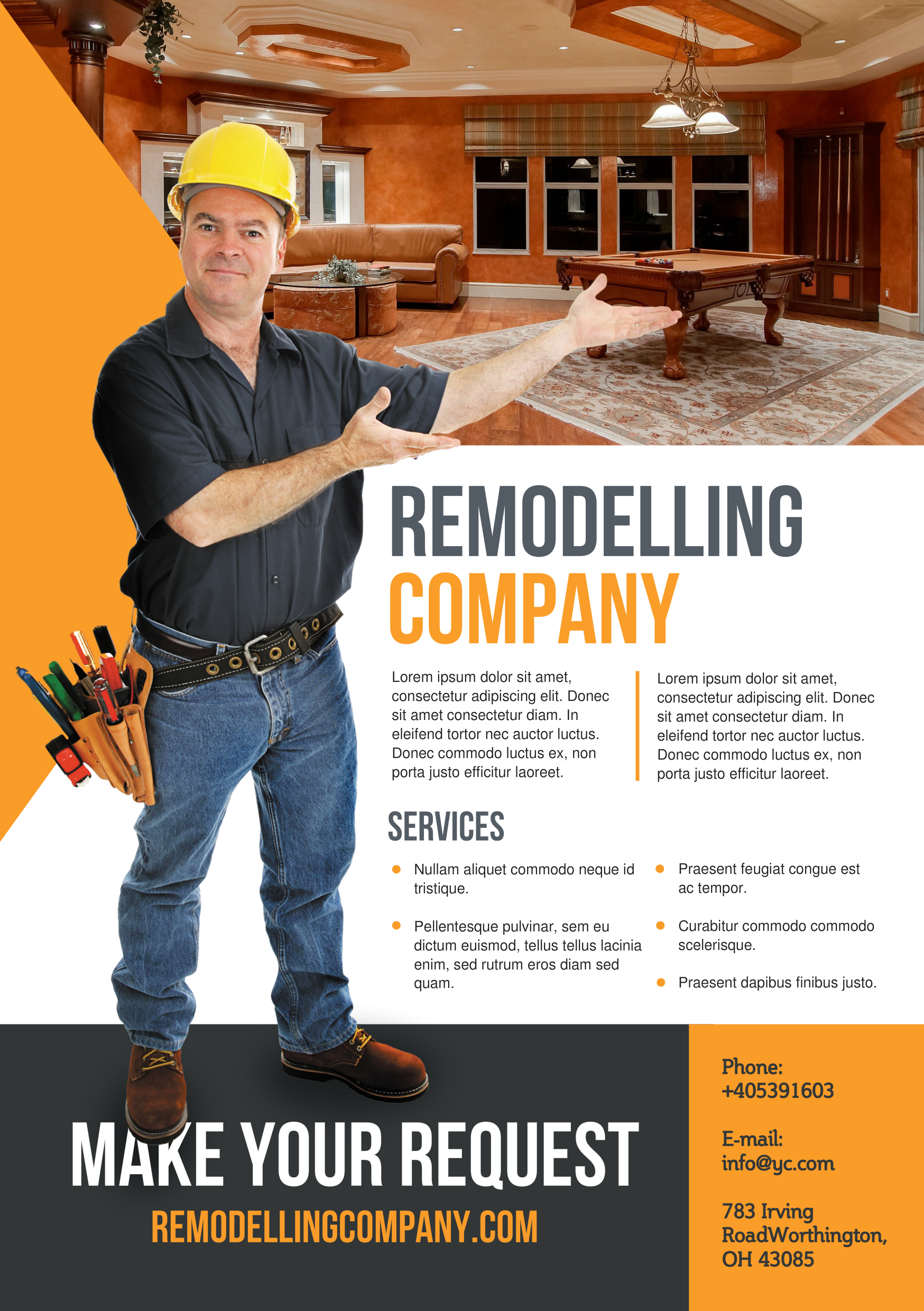 Remodeling A Promotional Flyer HttpPremadevideosComAFlyer