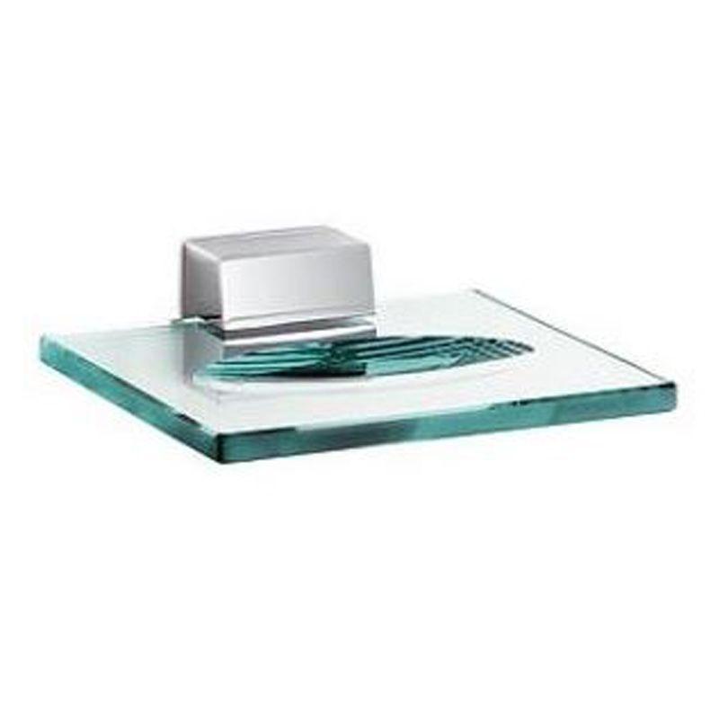 Kludi Joop Seifenschale 5598505h7 Mit Untersetzer Aus Kristallglas Chrom Grune Glas Seifenschale Schale Seifenschale Grunes Glas Badezimmerarmatur