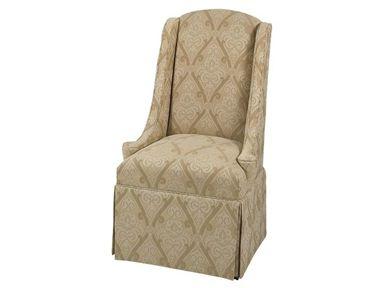 DesignMaster Dining Room Weddington Hostess Chair 01-408 - Hickory Furniture Mart - Hickory, NC