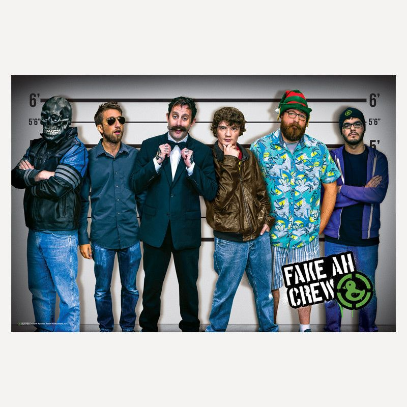 d6a1d2da6 Achievement Hunter Heist Lineup Poster | Rooster Teeth Store | What ...