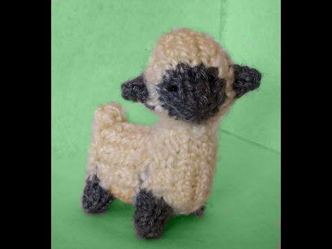 How to Loom Knit a Mini Sheep - YouTube