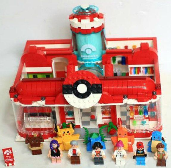 Pokemon Lego, Mini Figuren, Pokemon Hochzeit, Pokemon Cake Topper, Pokemon Minifiguren, Pikachu, Squirtle, Bulbasaur, Charmander, Pokemon Cupcake   - lego -