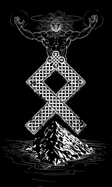 Odal Rune Viking Norse tattoo, Norse runes, Norse symbols