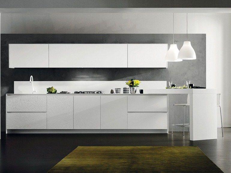 Parece com a nossa cozinha. Pintar parede cinza. Cozinha integral ...