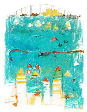 Paul Balmer: Cityscape Sketches
