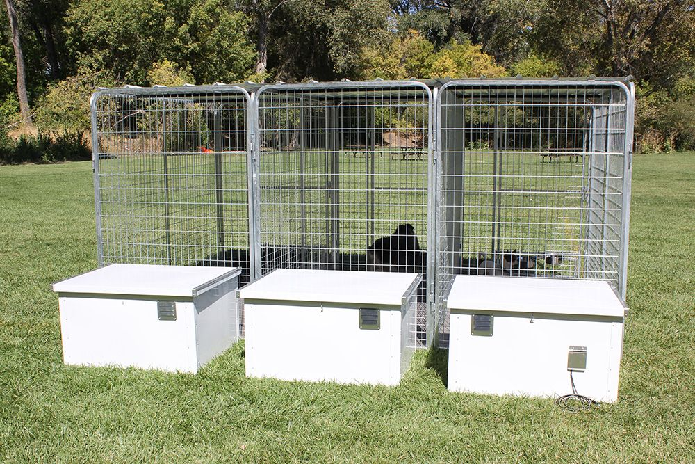 The Cube Dog House A Has A Nice Sleek Design With An Exterior