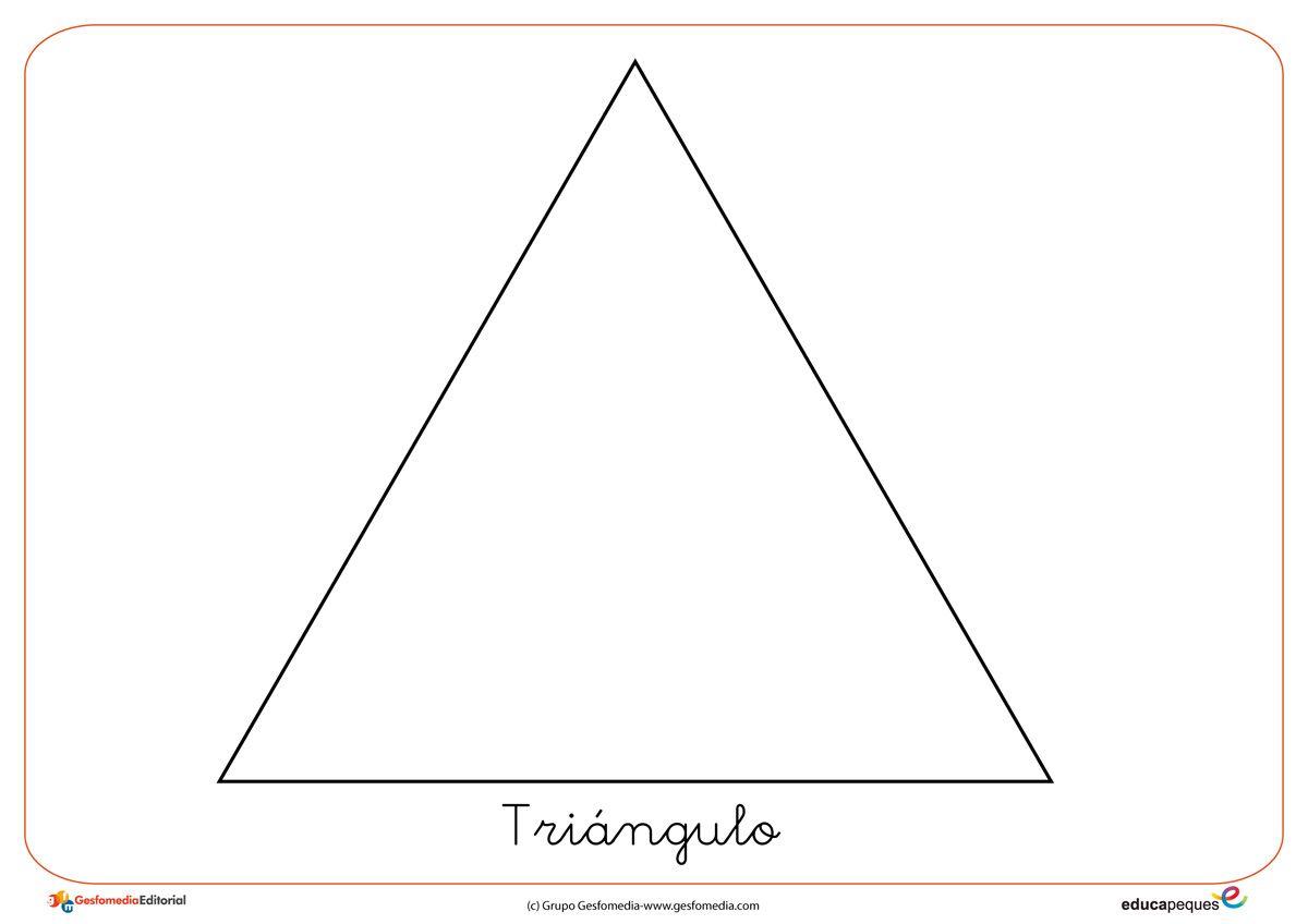 Formas Y Figuras Geometricas El Triangulo