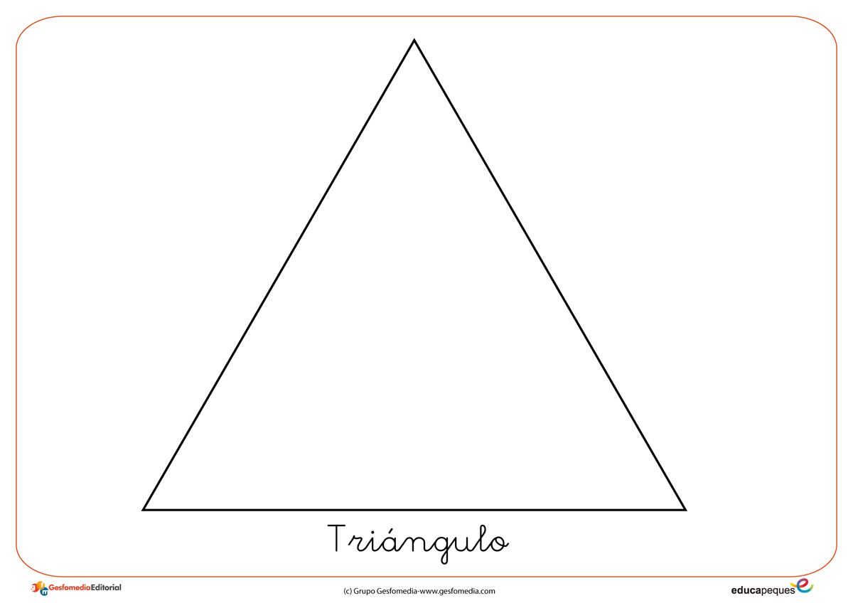 Formas y figuras geométricas: El triángulo | Figuras geometricas, El ...