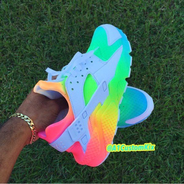 separation shoes 658cc 2d6c6 custom colorful huaraches - Google Search