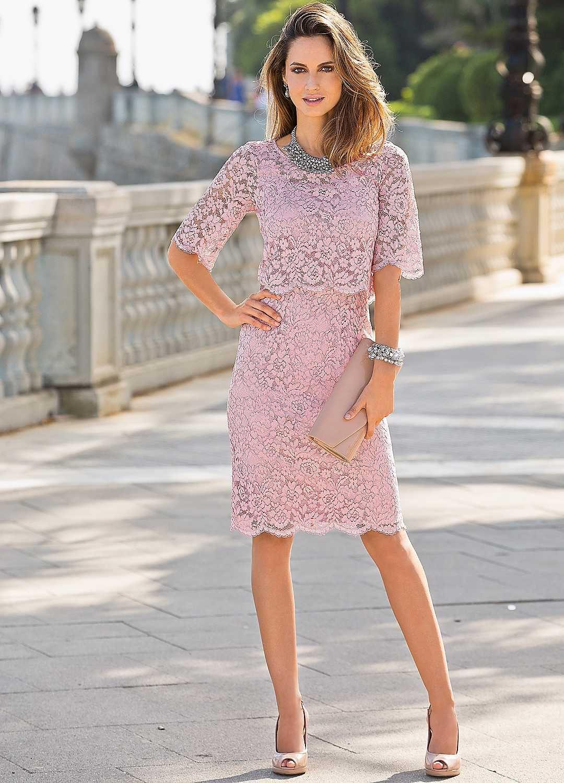 Together Short Sleeve Lace Dress | Igreja | Pinterest | Colección de ...