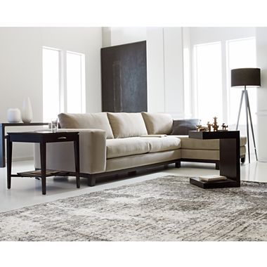 Calypso 2 Pc Chaise Sectional In Gibson Fabric Jcpenney Home Decor Home Living Room Furniture