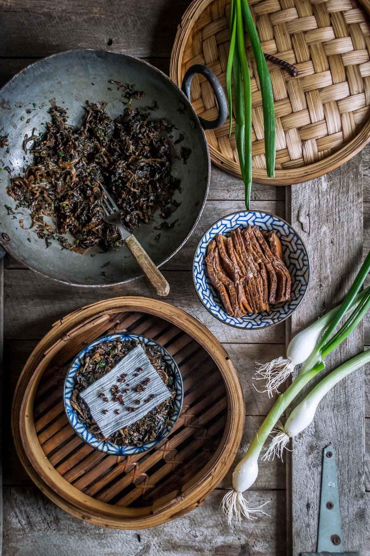 Szechuan kourou   Receta   Cerdo y Vientre de cerdo
