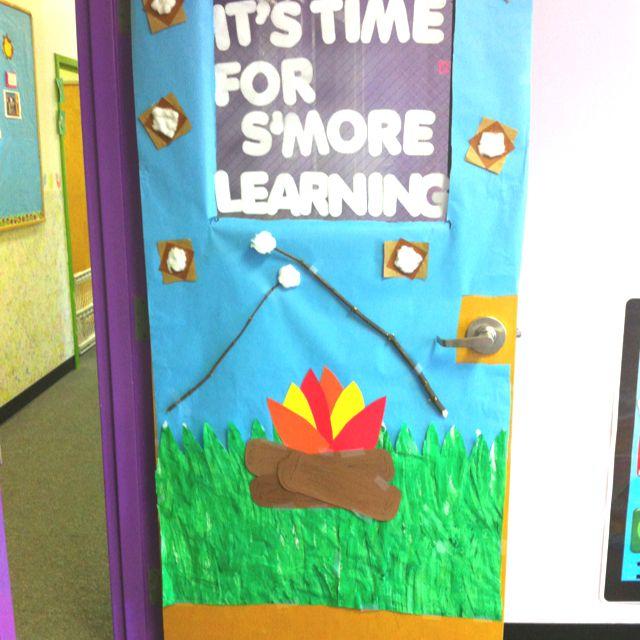 Classroom Door Decoration Ideas For Summer : My summer door for preschool room actually made
